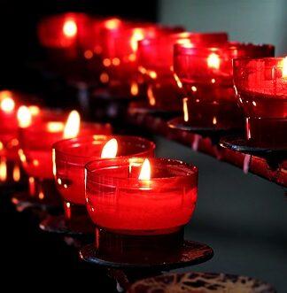 Relaks przy świecach zapachowych
